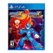 Megaman X Legacy Collection 1+2 Ps4 Fisico Sellado Original