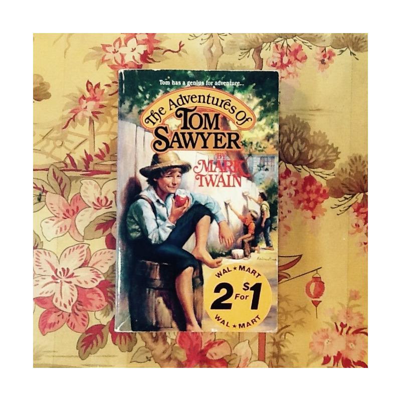 Mark Twain. THE ADVENTURES OF TOM SAWYER.