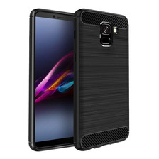 Funda Tpu Simil Carbono Samsung J6 J8 2018 + Envio