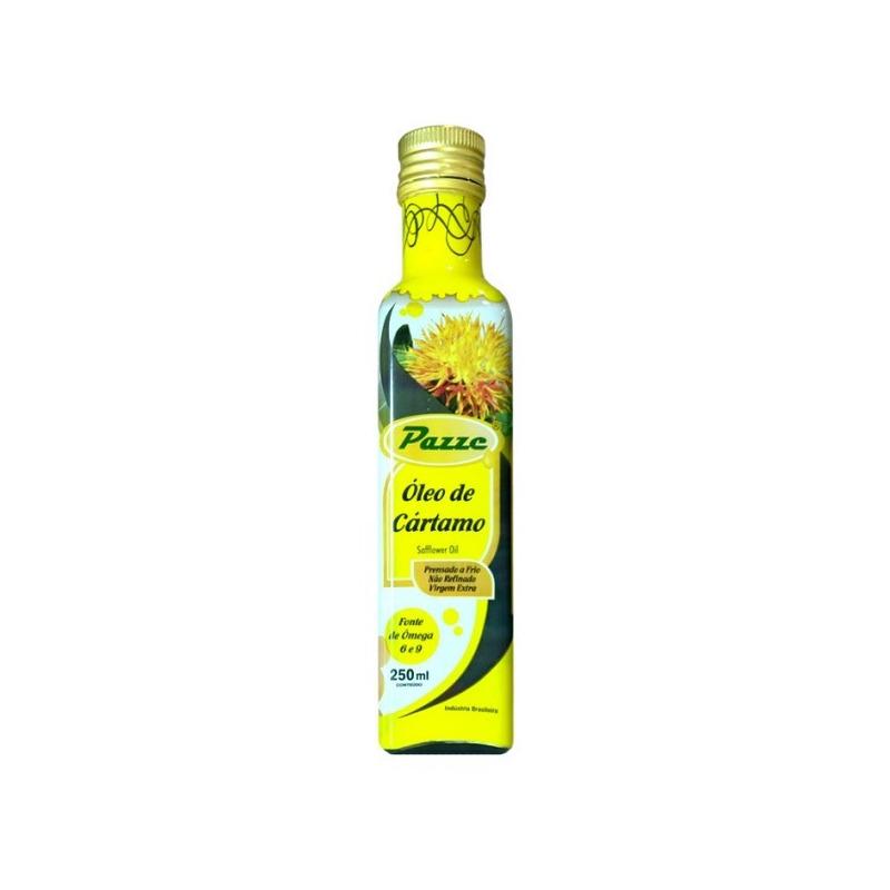 Oleo de Cartamo Extra Virgem 250ml - Pazze