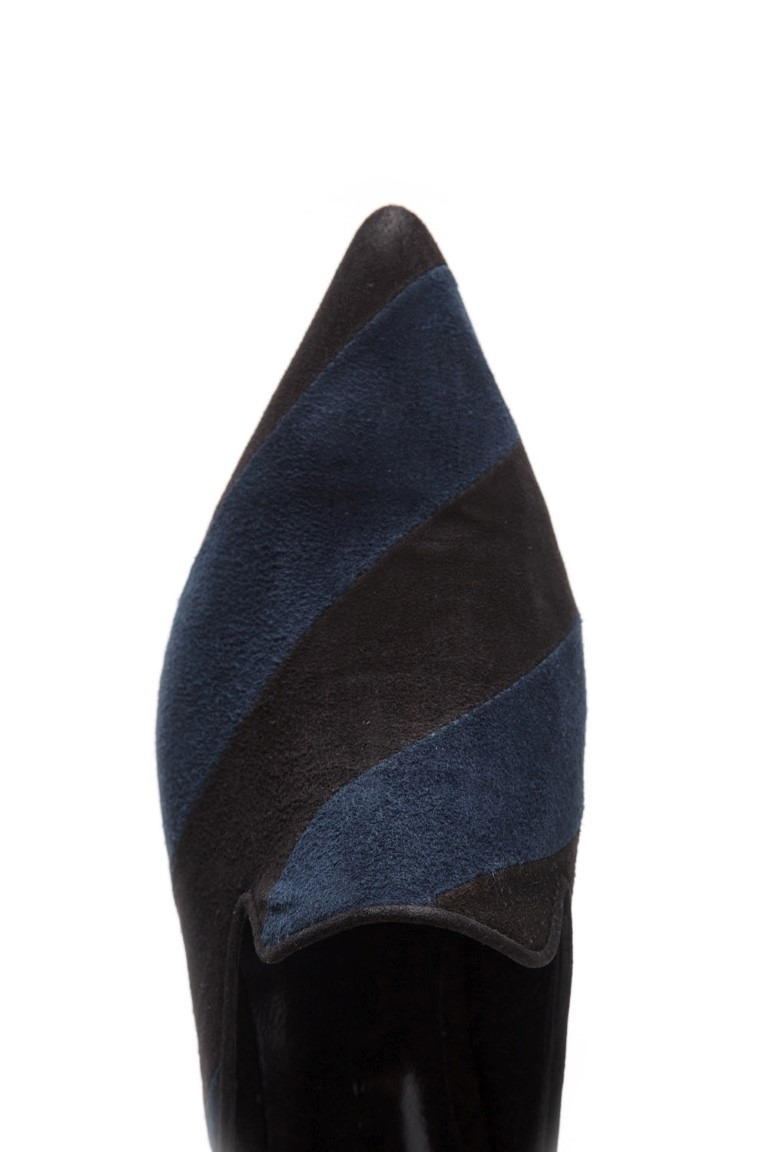 Slippers Sasha azul y negro/ SALE 20% OFF - FREE SHIPPING