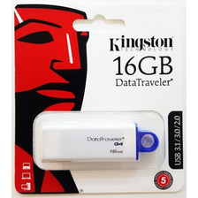 Pendrive Kingston 16 Gb Dtg4 Usb 3 3.1 Original Garantía