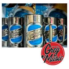 Vaso Guiro De Cerveza Quilmes De Percusión Vaso Guira 3/4 L.