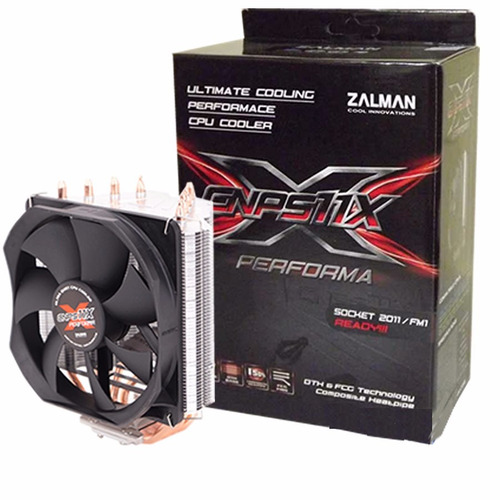 Cooler Cpu Zalman Cnps11x Performa P Micro Intel 7600k 7700k