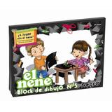 BLOCK DE DIBUJO EL NENE Nº5, COLOR NEGRO. x24 HOJAS