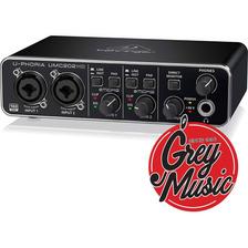 Audiophile Behringer Umc202 Hd 2x2 Interfaz De Audio Usb