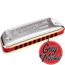 Armònica Hohner Golden Melody Si - B -