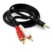 Cable Audio Plug 2.5 Mm A 2 Rca De 1.8 Mts Ac-27 Noganet
