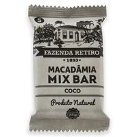 Barra de Macadamia Mix Bar com Coco 22g - Fazenda Retiro
