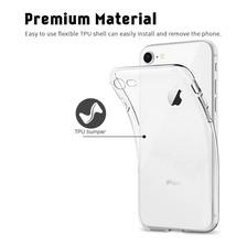 Funda Tpu Slim iPhone 6s 7 8 Plus X Xr Xs Max + Glass 5d