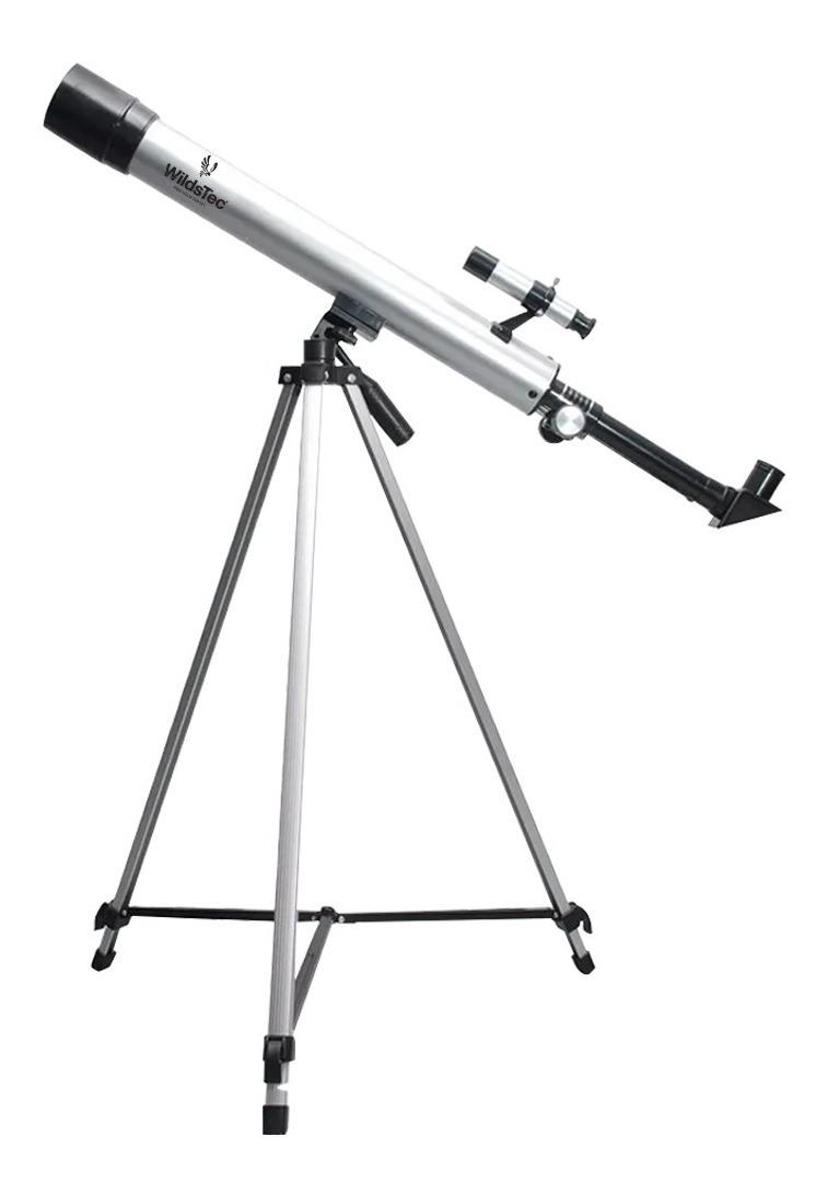 Telescopio 600x50 Distancia Focal 600 Mm 3 Lentes Wildstec