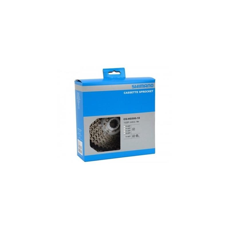 CASSETE SHIMANO DEORE M6000 CS-HG500 11-42D + CORRENTE SHIMANO CN-HG54 116L - 10V