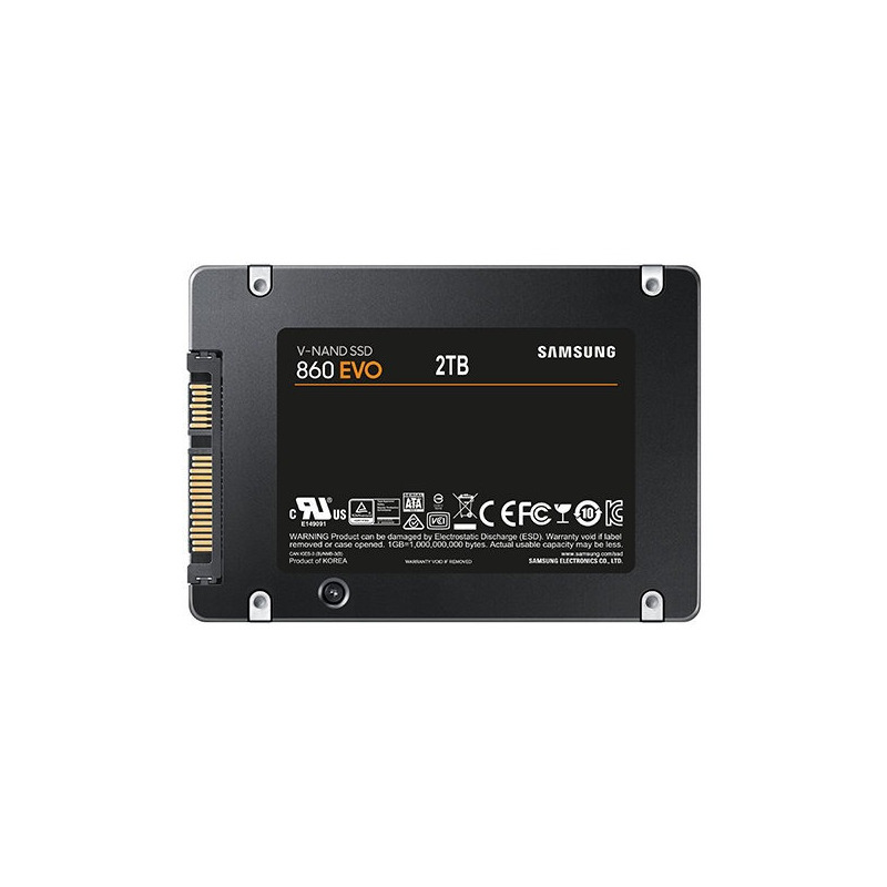 """Unidad De Estado Solido Ssd 2tb Samsung Evo 860 2.5"""""""