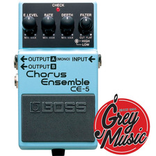 Pedal Boss Ce-5 Chorus Ensemble Para Guitarra - Grey Music -