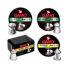 Combo Balines Gamo 5 5 Aire Comprimido Caza Cuero Pluma Mix