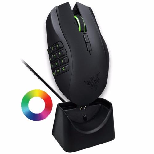 Mouse Gamer Inalambrico Razer Naga Epic Chroma Laser 4g Luz