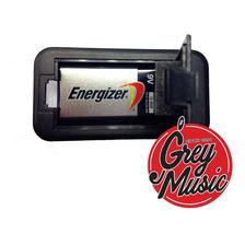 Porta Bateria Bt002 9v Para Instrumentos De Cuerda