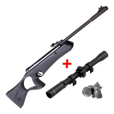 Rifle Aire Comprimido Crosman Raven 4 5 Mira Infantil Niños