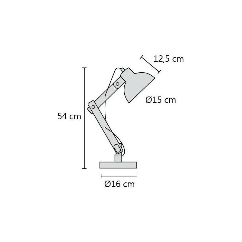 Pack X 2 Velador Arlon Blanco Cable Textil Madera Apto Led