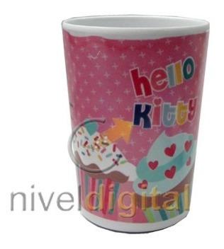 Vaso Plastico Infantil Hello Kitty 330 Ml. Ideal Nenas