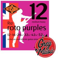 Rotosound R12 Roto Purples Para Electrica 012-052