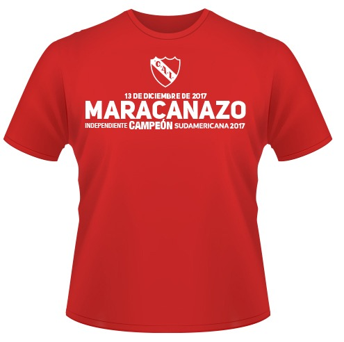 "Remeras Orgullosas ""Maracanazos"""