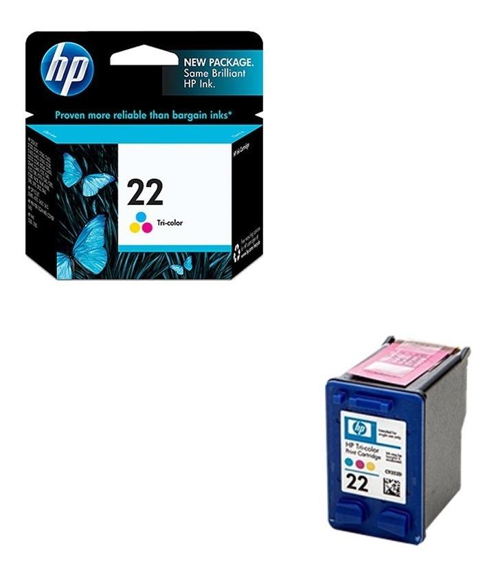 Cartucho Hp 22 Color Original Caja Cerrada Garantía Oficial!