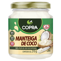 Manteiga de Coco 210ml - Copra