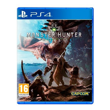 Monster Hunter World Ps4 Fisico Sellado Nuevo Original