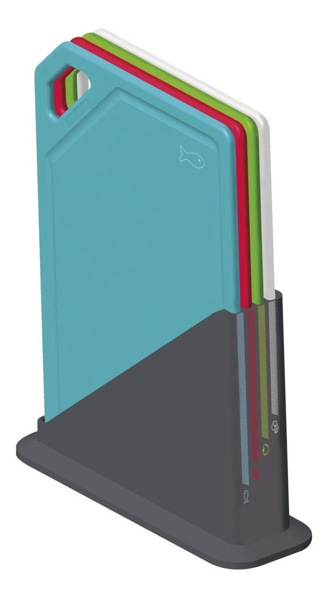 Set X 4 Tablas Soporte Antimicro Tramontina Mix Color Retiro