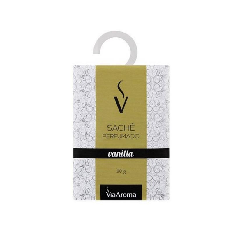 Sache Perfumado - Aroma de Vanilla - 30g - Via Aroma