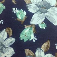 Tecido impermeável Acqua Soleil floral tirio