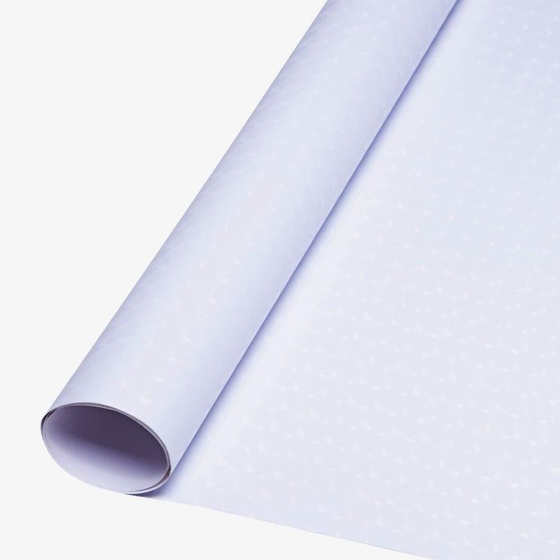 Vinil adesivo 3D opaco branco larg. 1,22 m