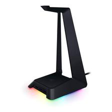 Base Para Auriculares Razer Station Chroma Rgb Stand Hub Usb
