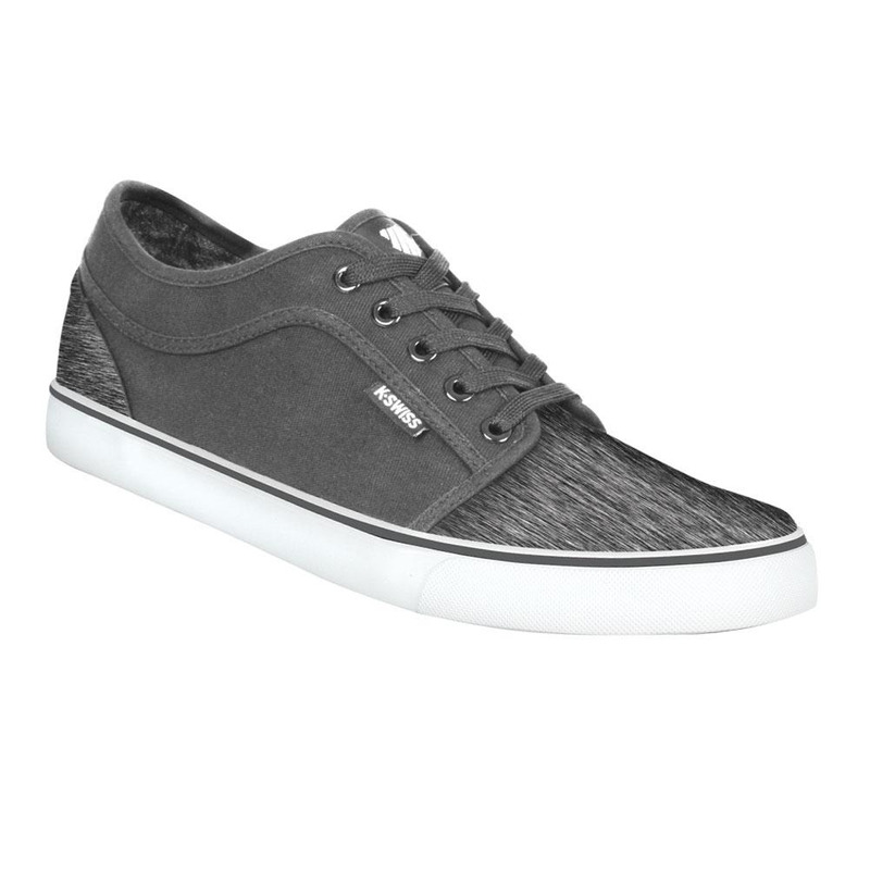 Sneakers Kswiss Gris Con Suela Blanca Kgf025