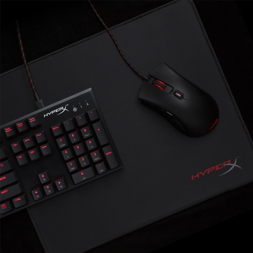 Mousepad Gamer Hyperx Fury Pro Mouse Pad Small S Borde Tejido Oficial