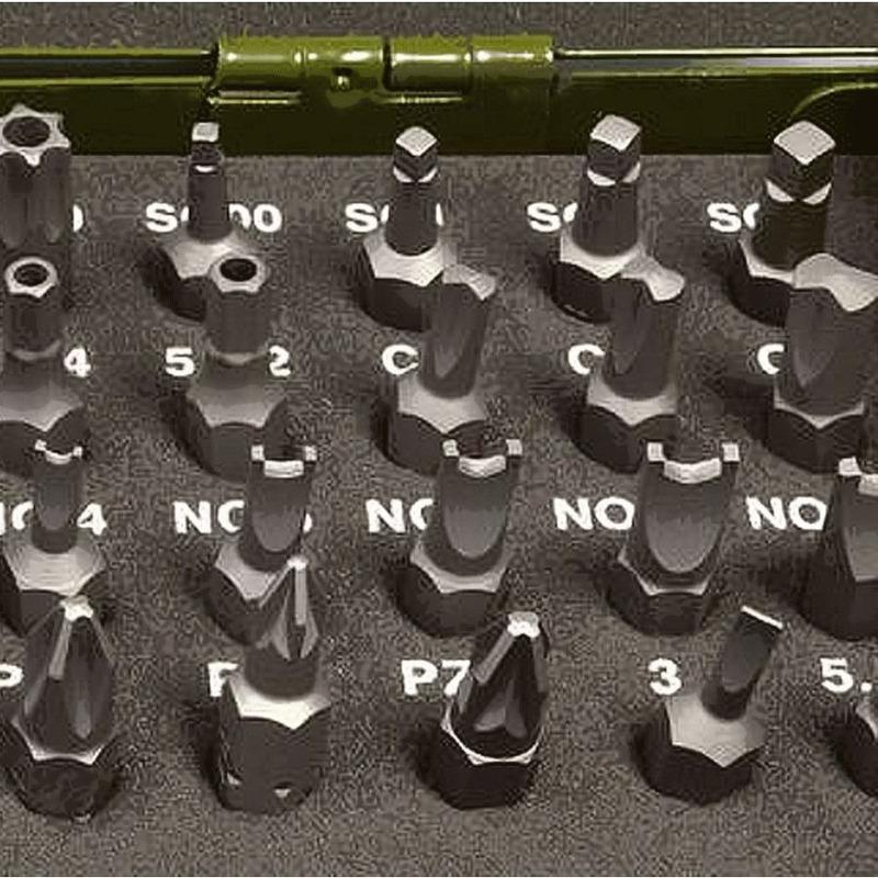Super Kit com 75 Bits - 23107 - Proxxon