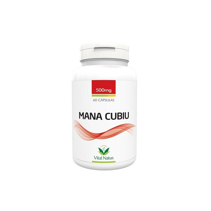 Mana Cubiu - 60 capsulas de 500mg - Vital Natus