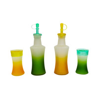 Set para Ensalada Frost C-Soport de Color Verde y Amarillo  1573127