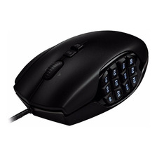 Mouse Gamer Mmo Logitech G600 20 Botones 8200 Dpi Luz Usb