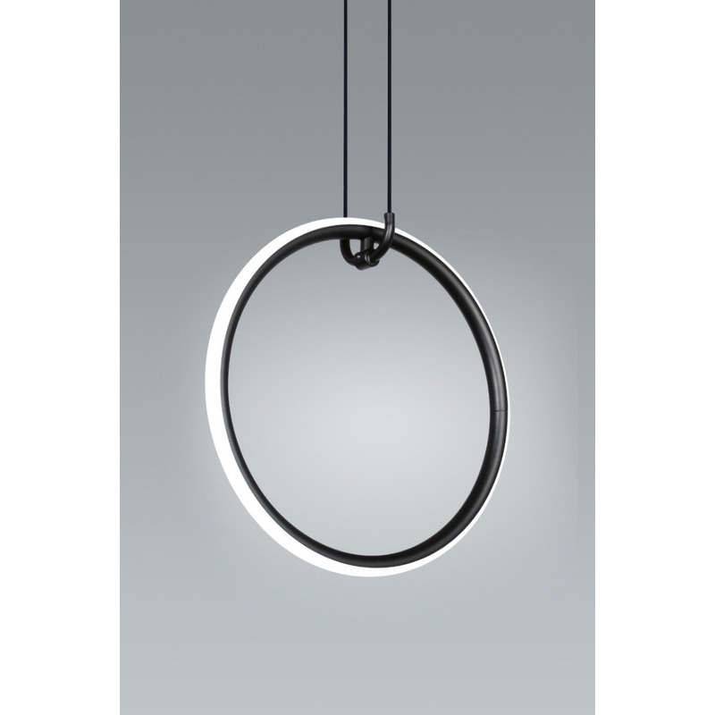 Lampara Colgante Tub Anillo Led 14w Deco Moderno Premium Gmg