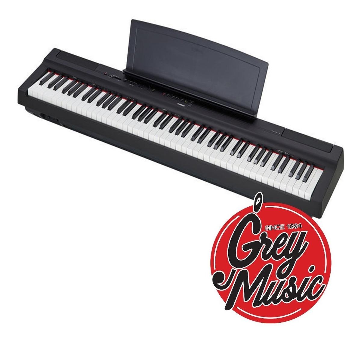 Piano Digital Yamaha P125 88 Teclas Envio - Grey Music