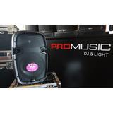 "Bafle GBR 2 vias 10"" MP3 batería PROMUSIC  dj, equipos para dj."