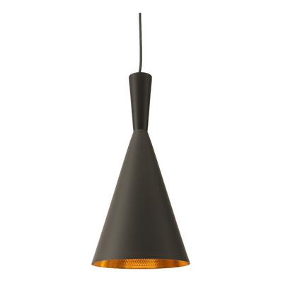 Lampara Colgante De Techo Beat Tall 1 Luz E27 Aluminio