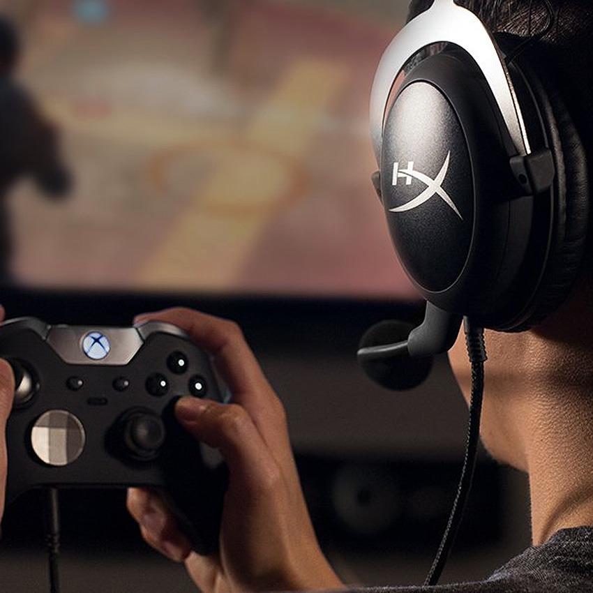 Auriculares Headset Gamer Hyperx Cloud X Xbox Gtia Oficial