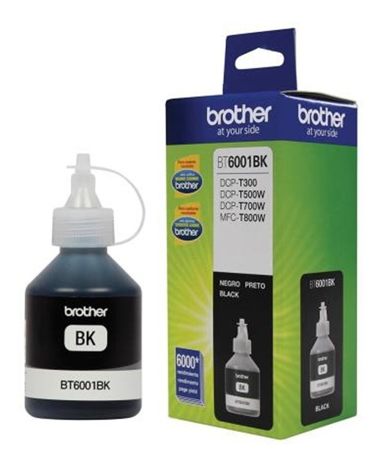 Tinta Brother Bt6001 Negro Dcp-t300 Dcp-t500w T700w Original