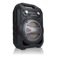 Parlante Portatil Kolke City Microfono Bluetooth Karaoke