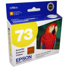 Cartucho Epson 73n Amarillo Cx3900 5600 5900 Original
