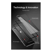 Funda Cafele Base Vidrio iPhone 7 8 Plus X Xs Max Xr + Glass