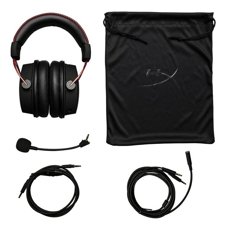Auriculares Headset Gamer Hyperx Cloud Alpha Pc Ps4 Xbox One Graves Doble Camara